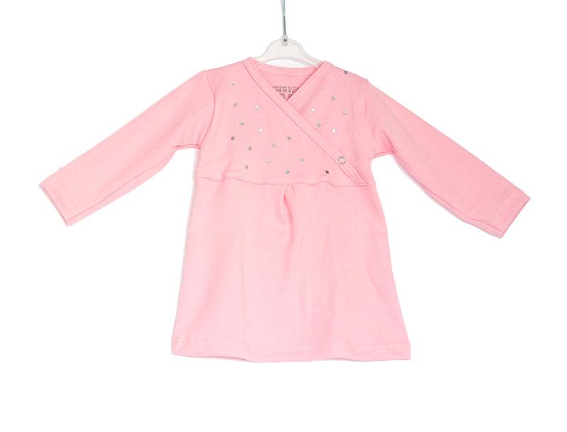 Licht Roze Jurk : Lichtroze baby jurkje met sterretjes gabrielle