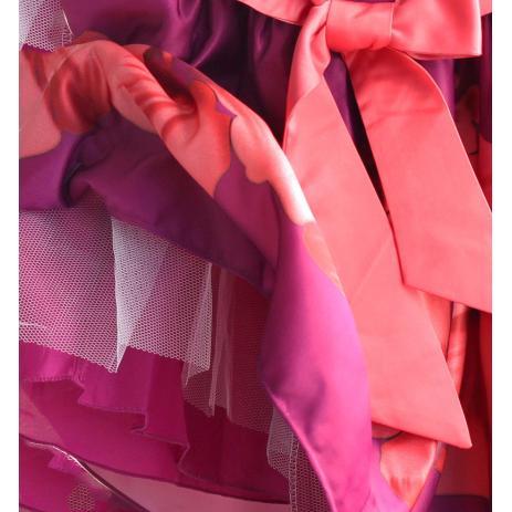 ed891a4299d Feestelijk kinderjurkje met bloemenprint Veerle